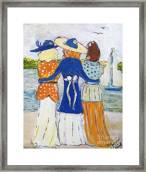 Soul Sisters  Framed Print