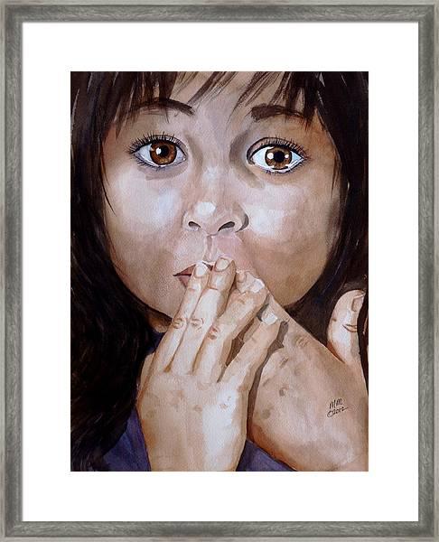 Soul Tears Framed Print