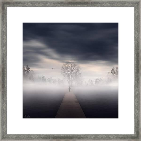 Soul's Journey Framed Print