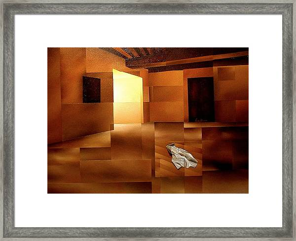 Sound Of Silence Framed Print by Laurend Doumba