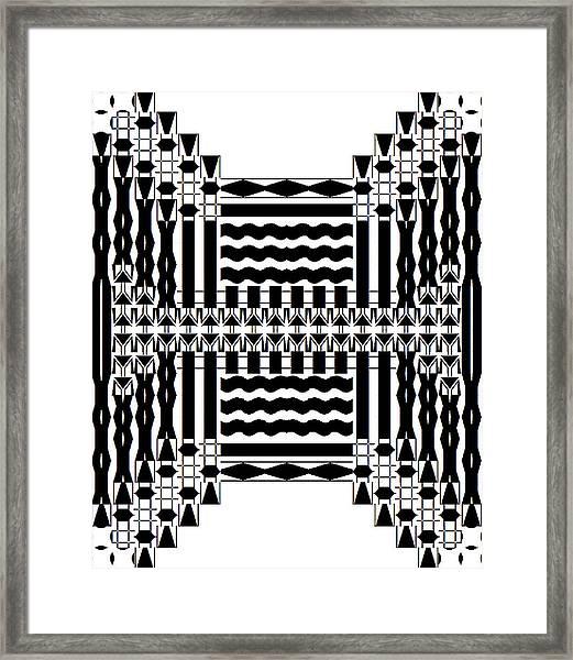 Soundwaves Framed Print