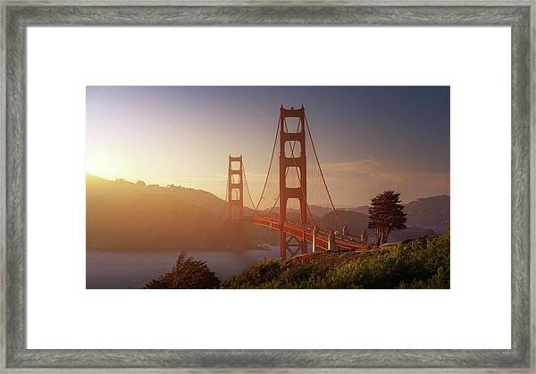 South Golden Gate. Framed Print