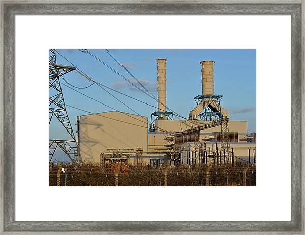 South Humber Bank Gas Power Station Framed Print
