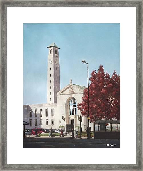 Southampton Civic Center Public Building Framed Print