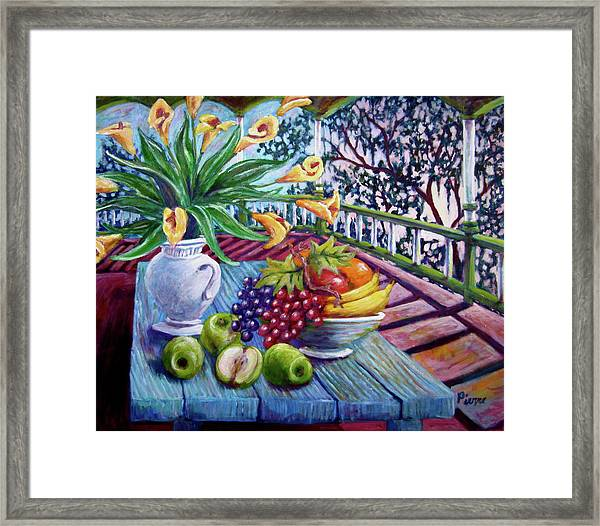 Southern Lillies Framed Print