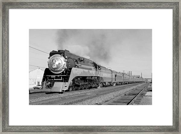 Southern Pacific Train In Texas Framed Print