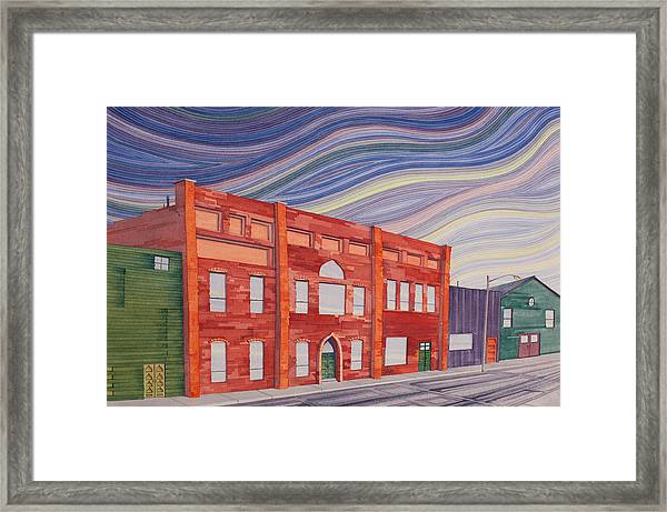 Southern Plains Townsacpe Framed Print