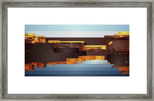 Southwest Sunrise 1 Framed Print
