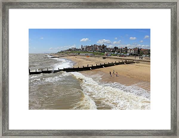 Southwold Beach Framed Print