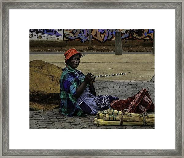 Soweto Artist Framed Print