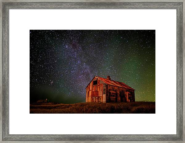 Space House ... Framed Print