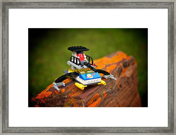 Space Invader 1 Framed Print