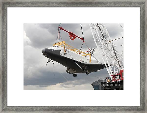 Space Shuttle Enterprise Framed Print