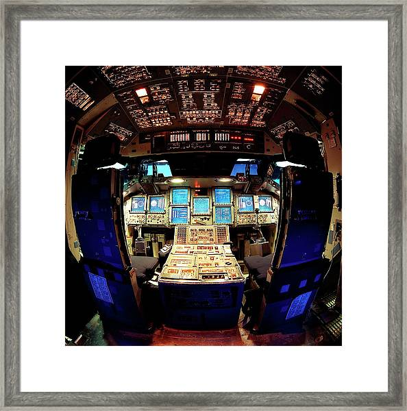 Space Shuttle Simulator Cockpit by Nasa/science Photo Library
