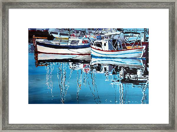 Spain Series 04 Cadaques Portlligat Framed Print