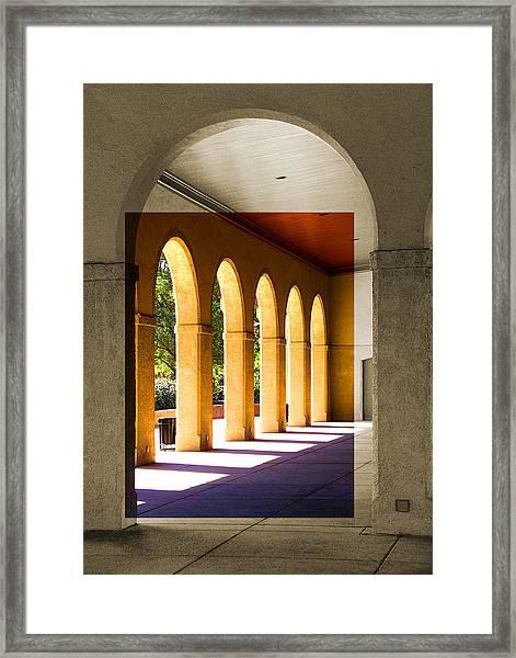 Spanish Arches Framed Print