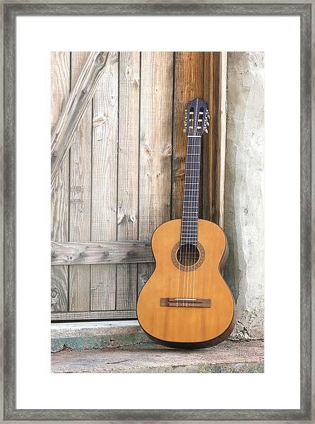 Spanish Guitar Framed Print