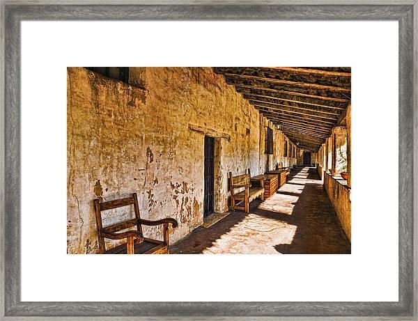 Spanish Passage Framed Print