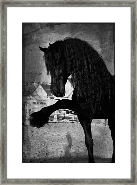 Spanish Walk Framed Print