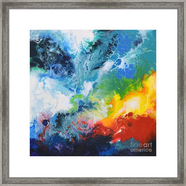 Spark Of Life Canvas Two Framed Print