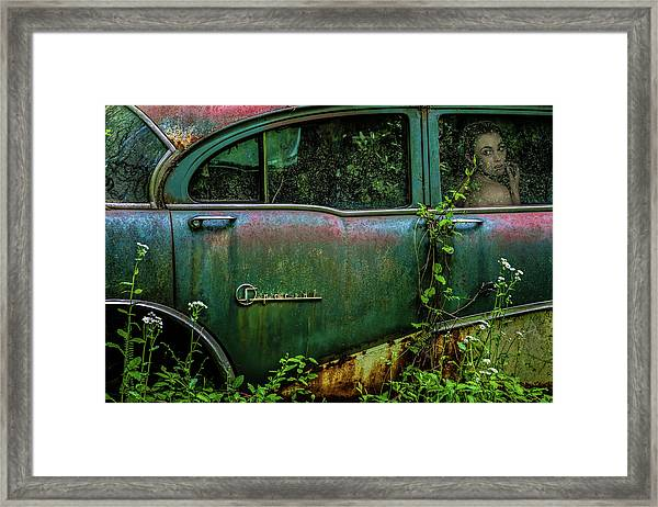 Special Girl Framed Print