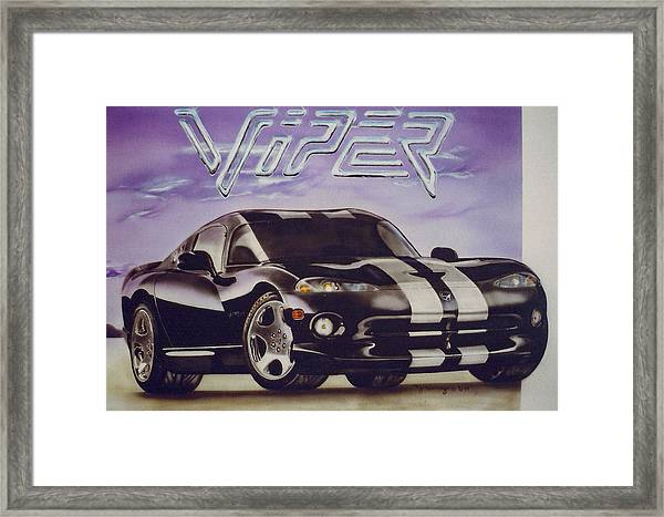 Speed At A Standstill Framed Print