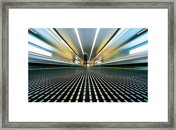 Speed Framed Print by Sebastian-alexander Stamatis