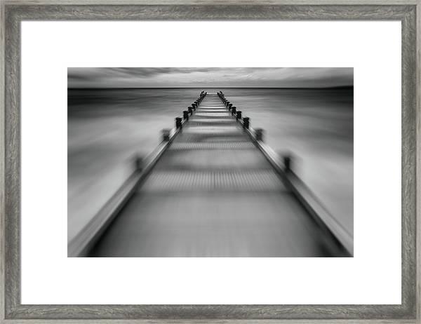 Speed Start For ? Framed Print