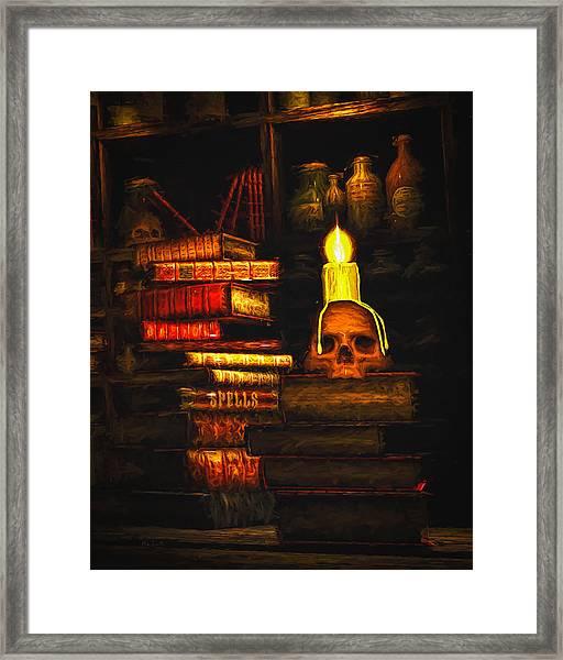 Spells Framed Print