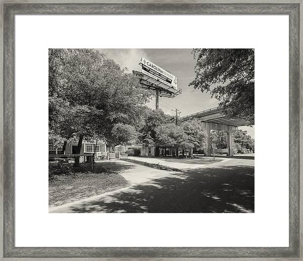 Spencer Farlow Drive Image Art Framed Print