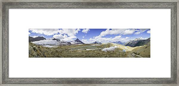 Sperry Glacier Basin Framed Print