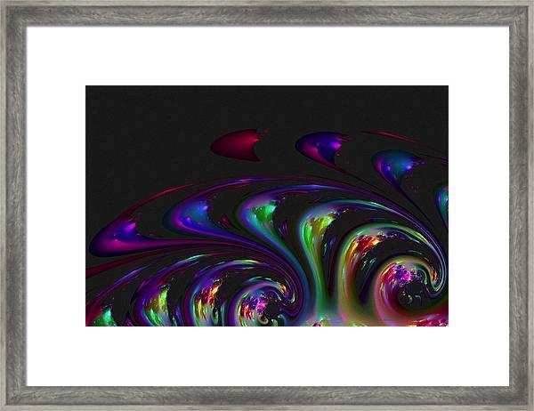 Spin Off Framed Print