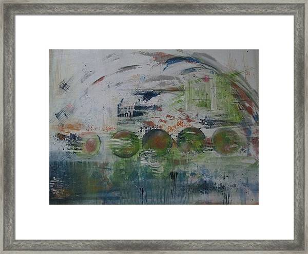 Spin The Earth Framed Print