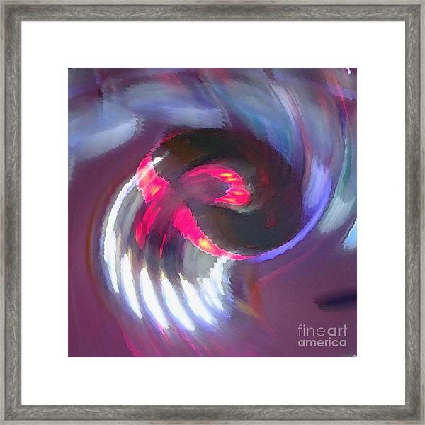 Spin'em Framed Print