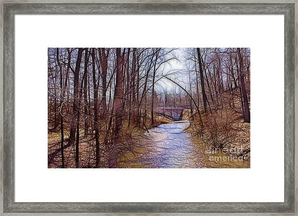 Spingtime In Western New York Framed Print
