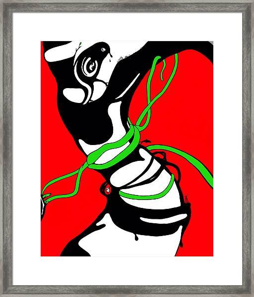Spinner Framed Print