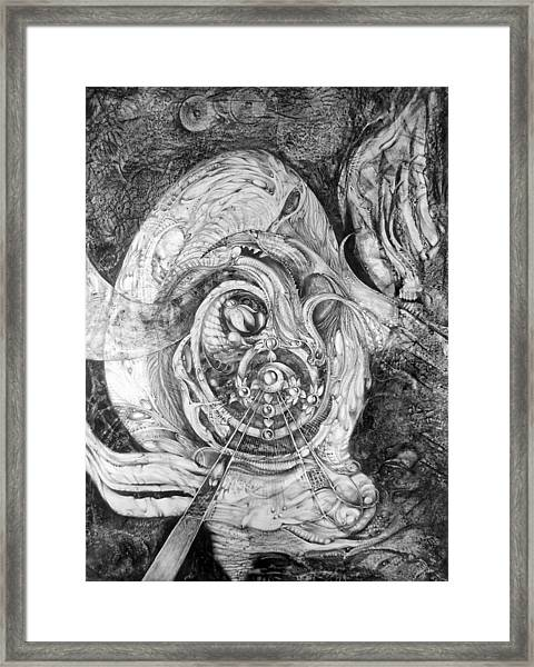 Spiral Rapture 2 Framed Print
