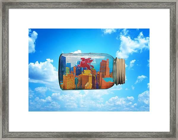 Spirit Of Dallas Framed Print