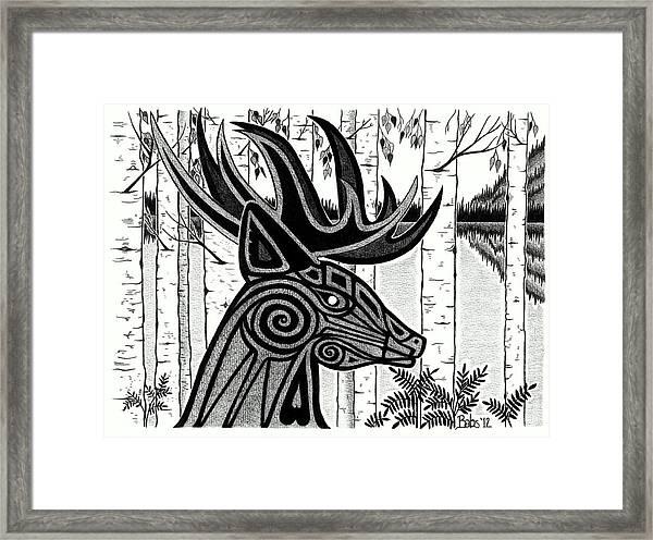 Spirit Of Gentle Strength Framed Print