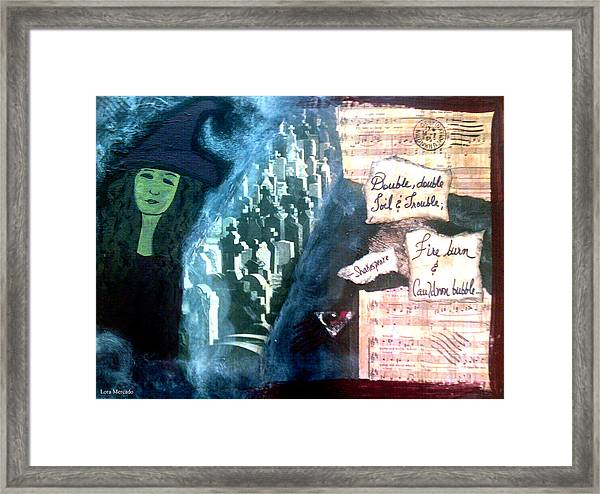 Spirit Of Halloween Framed Print