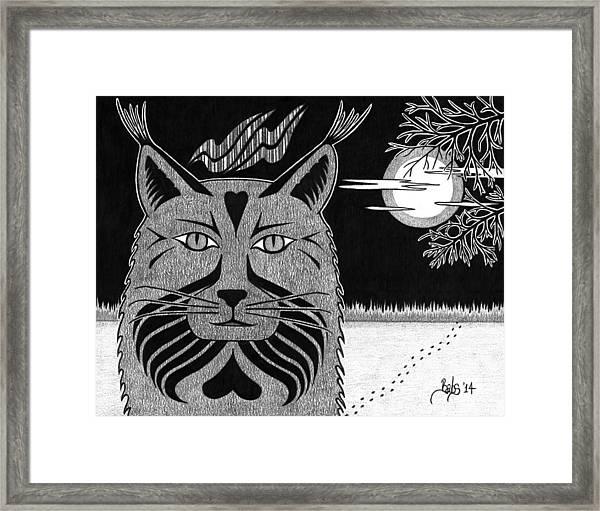 Spirit Of Revelation Framed Print