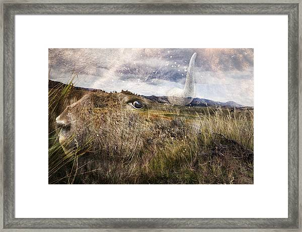 Spirit Of The Past Framed Print