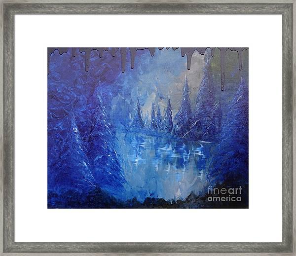 Spirit Pond Framed Print