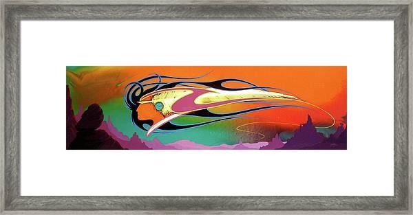 Spirit Wind Framed Print