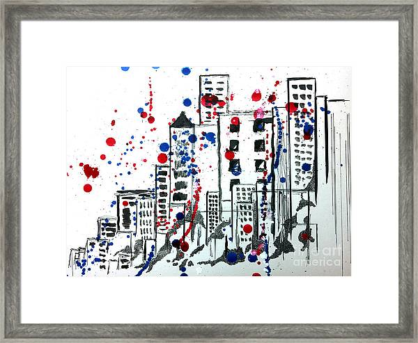 Spirit - Your Soul And Spirit Is In The City Framed Print