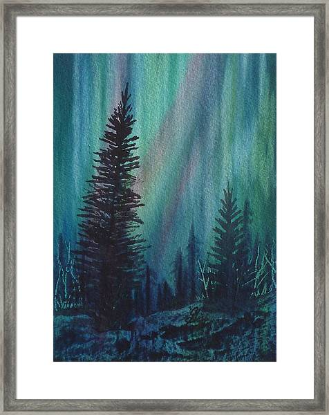 Framed Print featuring the painting Spirits Rising by Gigi Dequanne