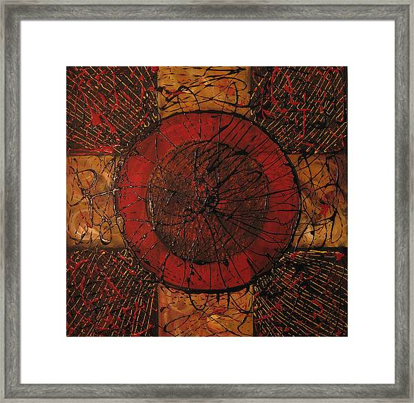 Spiritual Movement Framed Print