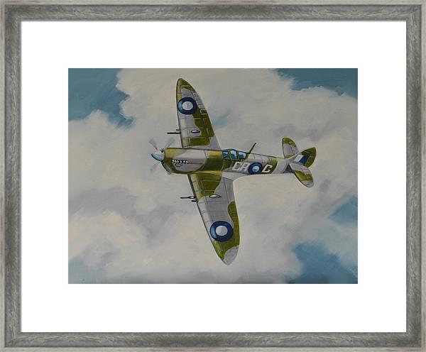 Spitfire Mk.viii Framed Print