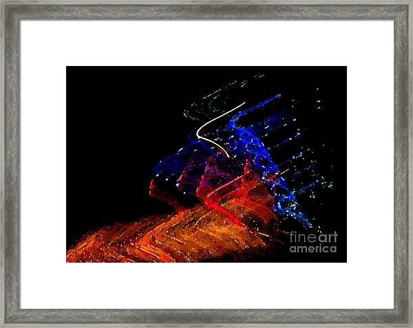 Splash Framed Print