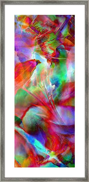 Splendor - Abstract Art Framed Print